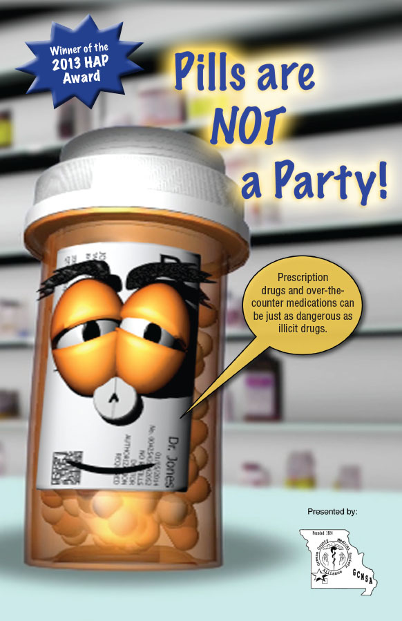 Pills are not a party