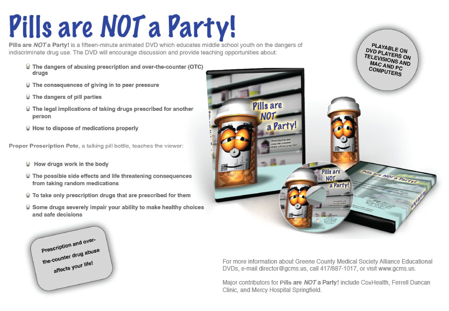 Pills are not a party!